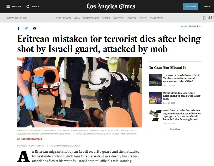 19Oct LATimes played story straight - callout