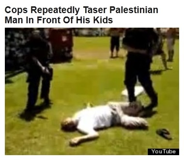 24Aug WPHL Palestinian tasered by Isr Police - callout