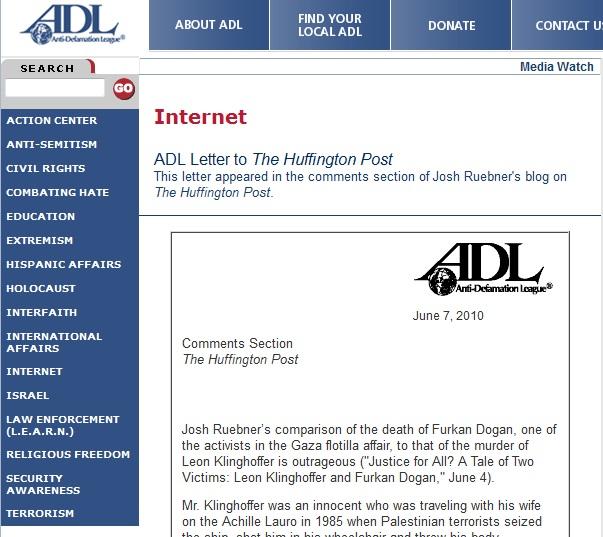 ADL Dogan complaint