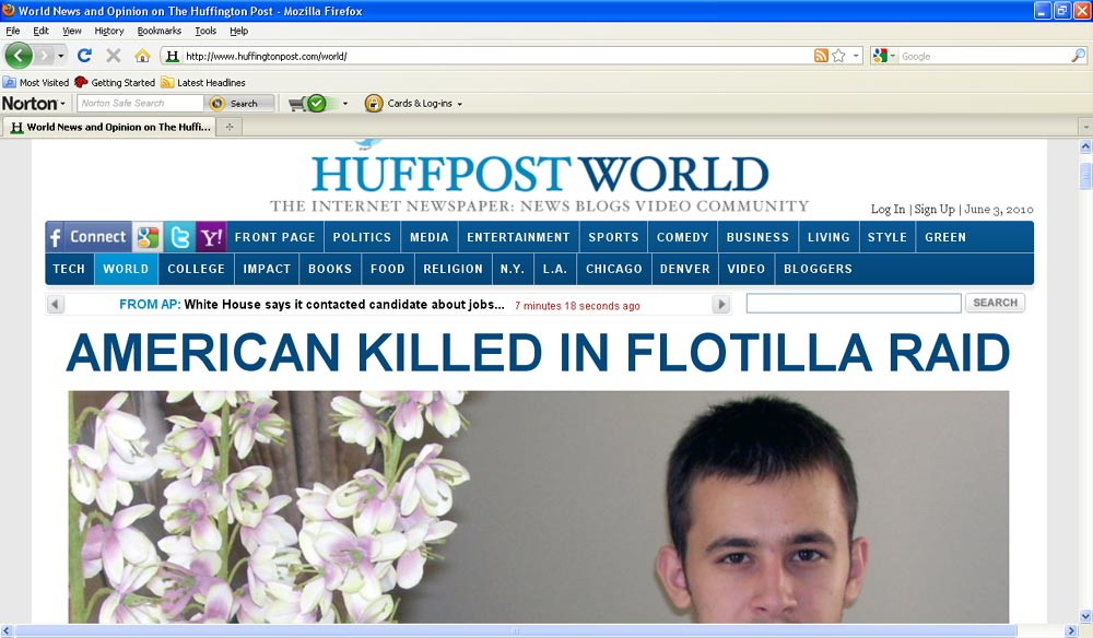 Furkan Doğan World Page splash