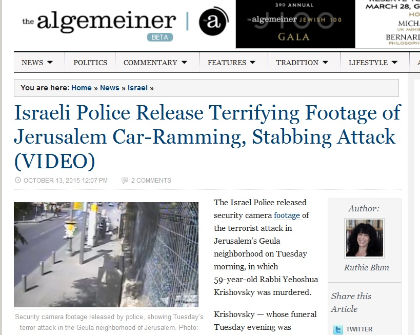 13Oct15 Algemeiner video