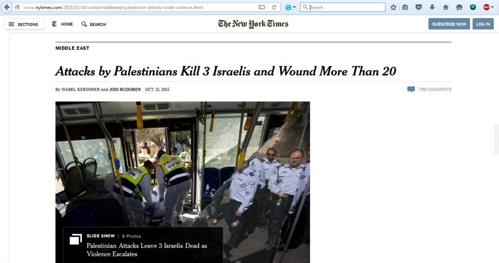 13Oct15 NYT numerous attacks