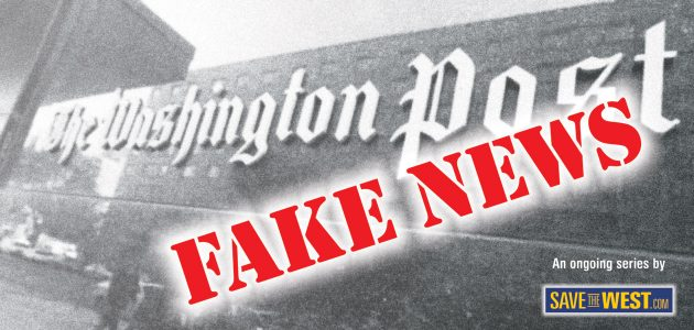 The Washington Post's fake news regarding Jerusalem, and the history of religion