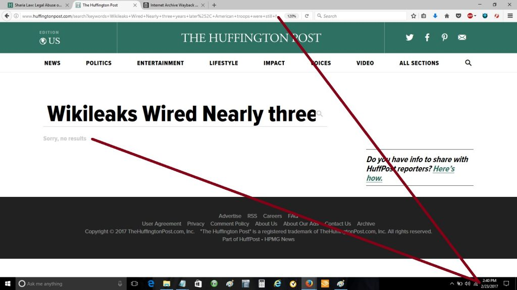 Why would HuffPost completely ignore such a story, especially since it came  from WikiLeaks' own documents, which it had been using for six months to  vilify ...